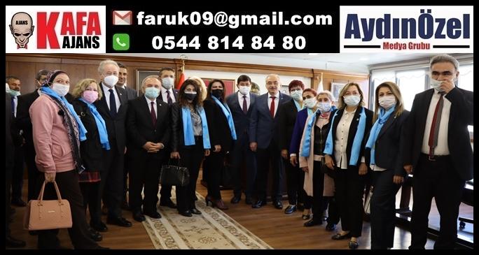 İYİ Parti heyetinden Başkan Özcan'a ziyaret