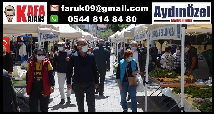 KUŞADASI YEREL ÜRETİCİ PAZARINDA BAHAR BEREKETİ