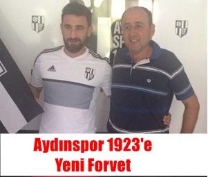 Aydınspor 1923'e Yeni Forvet Ali GENÇ Geldi