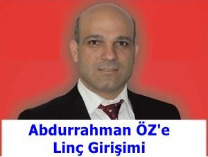 Ak Partililer Abdurrahman ÖZ'e Savaş Açtı