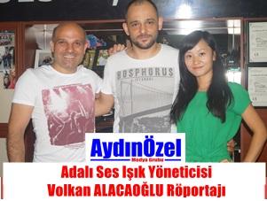 Adalı Ses Işık Yöneticisi Volkan ALACAOĞLU Röportajı
