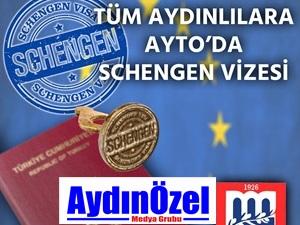 Tüm Aydınlılara AYTO'da Schengen Vizesi