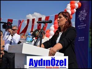 Özlem Çerçioğlu Kemer Spor Tesisi'nin Temelini Attı...