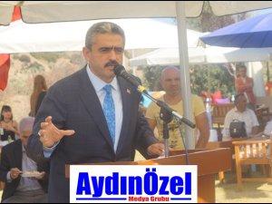 Haluk ALICIK İsabeyli'de Adnan MENDERES  Heykeli Açtı