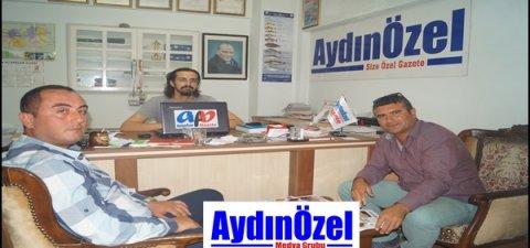 Aydınspor 1923 Taraftar Temsilcileri AydınÖzel'i Ziyaret Etti...