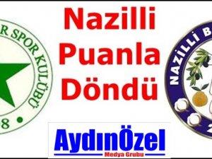 Nazillispor İstanbul'dan Puan İle Döndü