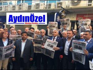 CHP İl Başkanı Bayram İNCİ Cumhuriyet'e Sahip Çıktı