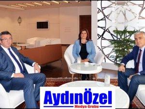 CHP'Lİ ALTAY'DAN, ÇERÇİOĞLU'NA ZİYARET