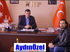 MHP Aydın İl Başkanı Burak PEHLİVAN Röportajı
