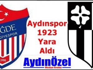 Aydınspor 1923 Yaralandı.