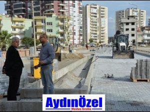 SÖKE'DE YOL ÇALIŞMALARI HIZ KAZANDI