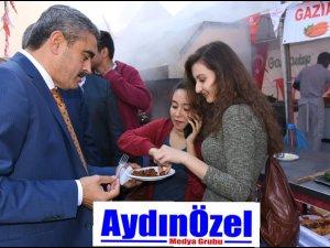 Başkan ALICIK, Gaziantep Fuarına Katıldı..
