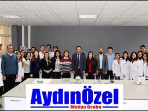 ADÜ Gıda Analiz Laboratuvarı Açıldı