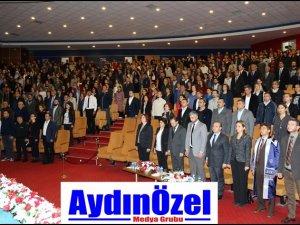 ADÜ Gazi Mustafa Kemal Atatürk'ü Andı