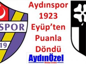 Aydınspor 1923 İstanbul'dan Puanla Döndü