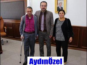 Rektör BİRCAN'a Hasta'dan Teşekkür Ziyareti