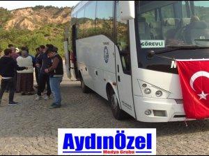 Nazilli Belediyesin'den Otobüs Desteği