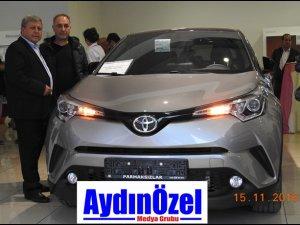 TOYOTA C-HR AYDIN'DA TESLİM EDİLDİ