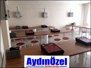 Buharkent MYO'nun Laboratuvarı Zorlu Enerji'den