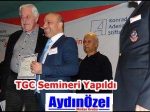 TGC Yerel Medya Semineri Tamamlandı