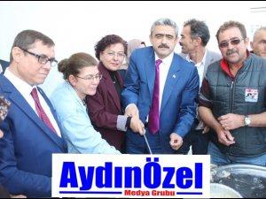 NAZİLLİ'DE TURAN KAPALI PAZAR YERİ AÇILDI