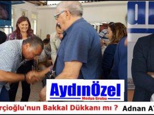Büyükşehir Çerçioğlu'nun Bakkal Dükkanı mı ?