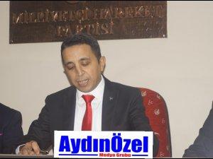 MHP Efeler İlçe Yönetimi Tanıtıldı