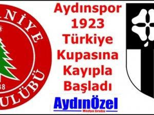 Aydınspor 1923 Türkiye Kupasına Kayıpla Başladı