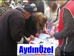 Vatan Partisi Efeler'den HDP Kapatılsın Kampanyası