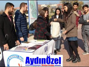 ADÜ Topluluklarından Yardım Kampanyası
