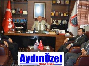 Vergi Başkanı'ndan AYTO Başkanı'na Ziyaret