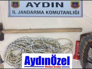 AYDINDA DEFİNECİLER KAÇAMIYOR