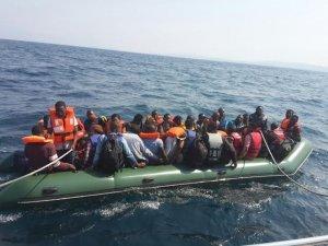 Didim'de 138 Kaçak Göçmen Yakalandı