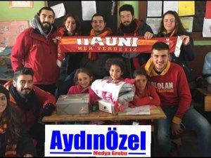 ADÜ'lü Ultraslanlar Erzincan'a Yardım Götürdü