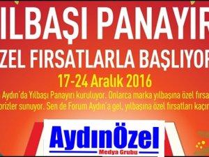 Forum Aydın'dan Yeni Yıl Panayırı