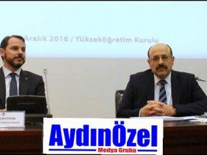 Rektör YÖK'te Düzenlenen Toplantıya Katıldı