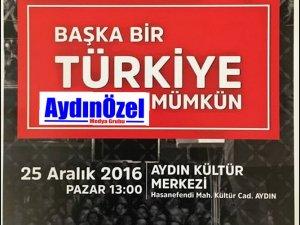 CHP'liler Şimdi de AYDIN'da Konuşacak
