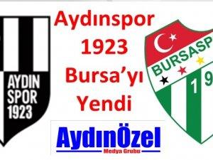 Aydınspor 1923 Bursa'yı Yendi