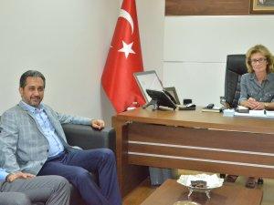 Sadık ATAY Genel Sekreter Selma ÖZCAN'ı Ziyaret Etti