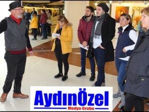 ADÜ'de Resim ve Heykel Sergisi Açıldı