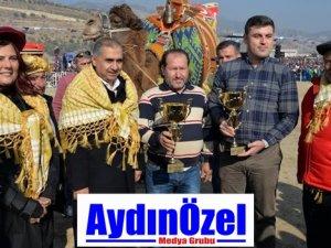 AYDIN'DA DEVE GÜREŞİ COŞKUSU YAŞANDI
