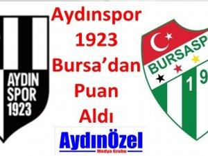 Aydınspor 1923 Bursa'dan Puan Aldı