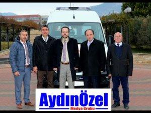 ADÜ Hastanesi Ambulans Aldı