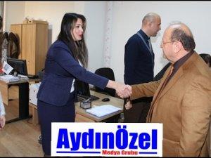 Başkan Özakcan Personelinin Yeni Yılını Kutladı