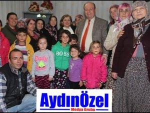 Özakcan, Yeni Yıla Öztürk Çiftinin Evinde Girdi