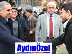 Vali Koçak Umurlu'da Vatandaşlarla Sohbet Etti