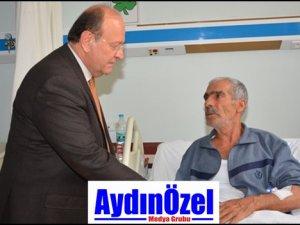 ÖZAKCAN'DAN ŞEHİT POLİS'İN BABASINA ZİYARET