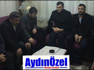 MHP İl Başkanı PEHLİVAN, Gazi Sami GÜLER'i Ziyaret Etti