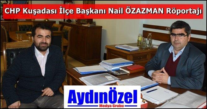 Nail ÖZAZMAN : Kuşadası Belediyesi Denk Bir Bütçeye Ulaştı +