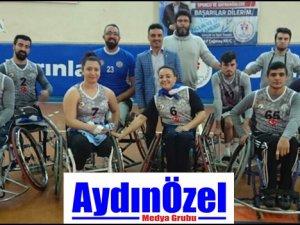 Engelli Basketbol Takımı Sezonun İlk Yarısını Galibiyetle Kapadı